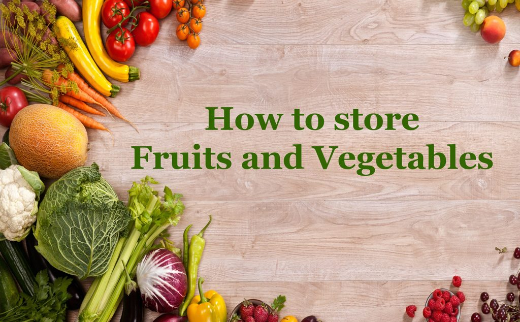 WIC healthy lifestyle guide how to store fruits and vegetables